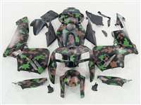 2005-2006 Honda CBR 600RR Brown/Green Camo Fairings | NH60506-103