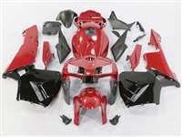 2005-2006 Honda CBR 600RR Deep Red/Black Fairings | NH60506-104