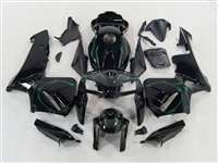 2005-2006 Honda CBR 600RR Green Tribal Fairings | NH60506-106