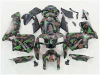 2005-2006 Honda CBR 600RR Brown/Green Camo Fairings | NH60506-107