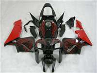 2005-2006 Honda CBR 600RR Red Flame Fairings | NH60506-12