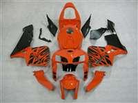 2005-2006 Honda CBR 600RR Orange Tribal Fairings | NH60506-21