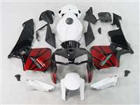 2005-2006 Honda CBR 600RR Red/Black/White Fairings | NH60506-33