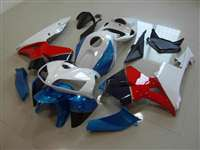 2005-2006 Honda CBR 600RR Blue/Red/White Fairings | NH60506-34