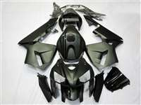2005-2006 Honda CBR 600RR Matte Black with Gloss Stripes Fairings | NH60506-35