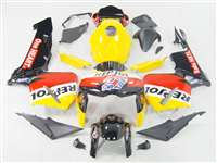 2005-2006 Honda CBR 600RR Yellow Repsol Replica Fairings | NH60506-36