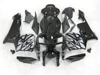 2005-2006 Honda CBR 600RR Silver Tribal on Black Fairings | NH60506-47
