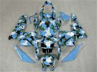2005-2006 Honda CBR 600RR Camo Blue Fairings | NH60506-60
