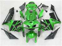 2005-2006 Honda CBR 600RR Metallic Green Fairings | NH60506-63