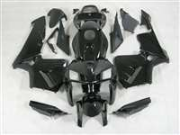 2005-2006 Honda CBR 600RR Gloss Black Fairings | NH60506-65