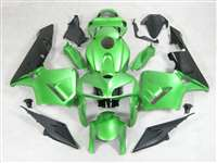 2005-2006 Honda CBR 600RR Matte Green Fairings | NH60506-68