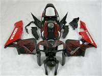2005-2006 Honda CBR 600RR Red Flame Fairings | NH60506-76