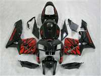 2005-2006 Honda CBR 600RR Red Tribal Fairings | NH60506-78