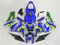 2005-2006 Honda CBR 600RR Movistar Fairings | NH60506-8