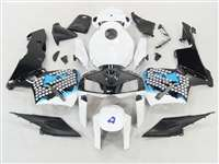2005-2006 Honda CBR 600RR Graffiti Blue Fairings | NH60506-94