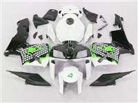Graffiti Green 2005-2006 Honda CBR 600RR Motorcycle Fairings | NH60506-96