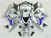 2007-2008 Honda CBR 600RR Metallic Blue Tribal Fairings | NH60708-11