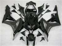 2007-2008 Honda CBR 600RR Charcoal/Black Fairings | NH60708-20