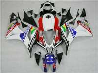 2007-2008 Honda CBR 600RR Carerra Race Fairings | NH60708-22