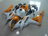 2007-2008 Honda CBR 600RR Orange/White Fairings | NH60708-27