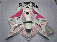 2007-2008 Honda CBR 600RR Pink Flame Fairings | NH60708-30