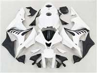 2007-2008 Honda CBR 600RR Bright White/Flame Fairings | NH60708-37