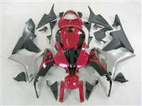 2007-2008 Honda CBR 600RR OEM Style Red/Black Fairings | NH60708-38