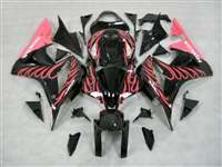 2007-2008 Honda CBR 600RR Pink/Black Fairings | NH60708-45