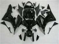 2007-2008 Honda CBR 600RR Gloss Black Fairings | NH60708-46