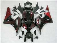 2007-2008 Honda CBR 600RR Red Fire Fairings | NH60708-5