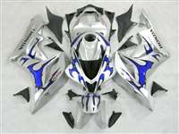 2007-2008 Honda CBR 600RR Metallic Blue Tribal Fairings | NH60708-59