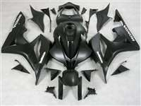 2007-2008 Honda CBR 600RR Charcoal/Black Fairings | NH60708-60