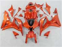 2007-2008 Honda CBR 600RR Candy Orange Fairings | NH60708-67