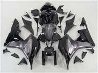 2007-2008 Honda CBR 600RR Charcoal Silver Fairings | NH60708-68