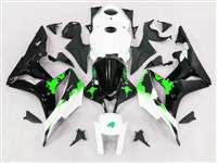 Graffiti Green 2007-2008 Honda CBR 600RR Fairings | NH60708-71
