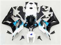Graffiti Blue 2007-2008 Honda CBR 600RR Fairings | NH60708-73