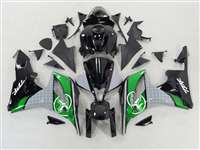 Two Brothers Green 2007-2008 Honda CBR 600RR Fairings | NH60708-74