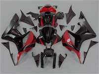 2007-2008 Honda CBR 600RR OEM Style Red/Black Fairings | NH60708-78