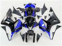 2007-2008 Honda CBR 600RR Blue/Black Fairings | NH60708-79