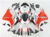 2009-2012 Honda CBR 600RR White/Red Fairings | NH60912-18