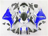 2009-2012 Honda CBR 600RR White/Blue Fairings | NH60912-19