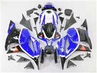 2009-2012 Honda CBR 600RR Blue Santander Fairings | NH60912-21