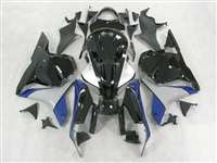 2009-2012 Honda CBR 600RR Black/Blue/Grey Fairings | NH60912-28