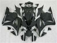 2009-2012 Honda CBR 600RR Flat Black Fairings | NH60912-38