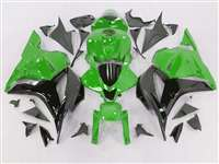 2009-2012 Honda CBR 600RR Green/Black Fairings | NH60912-50