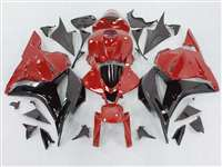 2009-2012 Honda CBR 600RR Red/Black Fairings | NH60912-51