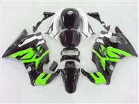 1991-1994 Honda CBR 600 F2 Bright Green/Black Fairings | NH69194-28