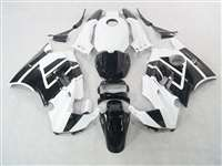 1991-1994 Honda CBR 600 F2 White/Black Fairings | NH69194-4