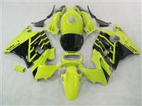 1991-1994 Honda CBR 600 F2 Black on Yellow Fairings | NH69194-5