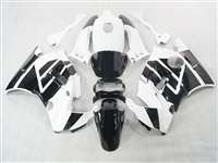 1991-1994 Honda CBR 600 F2 White/Black Fairings | NH69194-6
